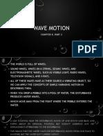Wave Motion 2