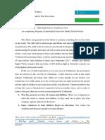 Position Paper for NTU MUN