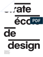 Strate Ecole de Design Brochure
