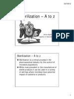 Sterilization a to z