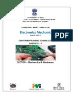Syllabus for electronics mechanic trade
