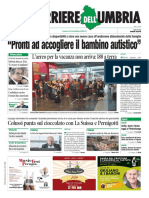 Rassegna stampa dell'Umbria sabato 27  luglio 2019 UjTV News24 LIVE