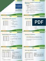 Powerpoint presentation - Analysis of Variance (ANOVA)