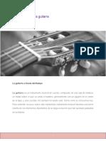 La evolución de la guitarra