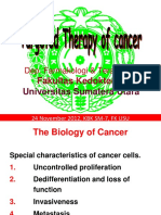 Therapy of cancer