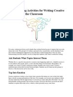 Brainstorming Activities for Writing Creative Nonfiction in the Classroom.docx