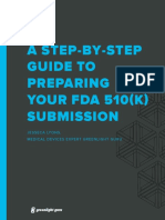 Step-By-Step Guide to Preparing Your FDA 510(K) Submission
