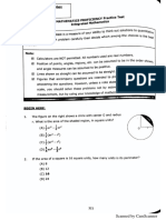 Integrated Mathematics Practice Tests