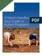 autism handbook parents guide