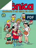 Gibi turma da Mônica - vacinas