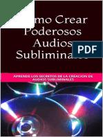 como crear audios subliminales