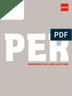 Per Challenge Questions
