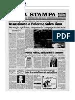 1992 13 MARZO UCCISO SALVO LIMA 2004 25 OTTOBRE COMMISSIONE REGIONALE ANTIMAFIA  AGESP ATO CASTELLAMARE DEL GOLFO ALCAMO TRAPANI CAMPOBELLO DI MAZZARA FAMIGLIA MELODIA DOMINGO FRANCESCO TARTAMELLA GIOVANNI DI GRAZIANO ANTONELLA CANINO FRANCESCO  OPERAZIONE TEMPESTA SPINA FRANCESCO VIRGA FRANCESCO