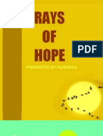 Rays of Hope - Volume 67 Dated 11-11-2010