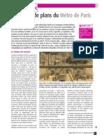 Un siècle de plans du Métro de Paris