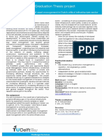 Maturity analysis risk based asset management in dutch infrastructure sector
