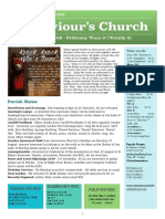 st saviours newsletter - 28 july 2019 - ot17