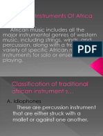 Musical Instruments of Africa