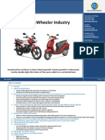 2 wheeler industry by ICRA
