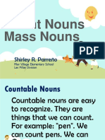 Count Nouns and Mass Nouns Ppt