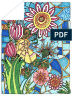 COLORING BOOK Flower Patterns