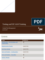 JDE_Kauri_CTM_Testing & ALM Training for ALL Users