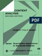 [Robert Philip, Weber] Basic Content Analysis(B-ok.cc)