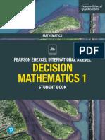 Edexcel IAL Decision Maths 1 Sample Pages