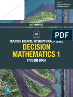 Edexcel IAL Decision Maths 1 Sample Pages