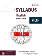 ISFO Syllabus English