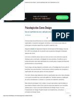 Psicologia Das Cores Design - Guia de Significados Das Cores e Aplicações Comuns
