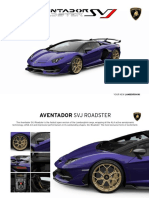 Lamborghini AventadorSVJRoadster