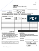Free Employee Expense Report