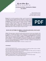 Os sinais de letras nas Libras colonização ou línguas.pdf