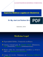 Aspectos Médicos Legales en Obstetricia