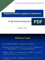 Dr. Pacheco Aspectos Médicos Legales en Obstetricia