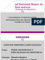 Obstetriz Elba Quiñones - Perfil Profesional