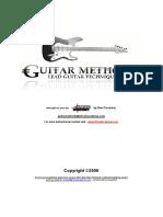 Beginner Shred Academy - Lead Guitar Techniques.pdf