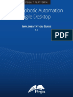 Pega Robotic Automation Agile Desktop Implementation Guide