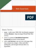Chap 1 – Web Essentials