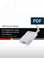 Manual Edimax Usb 2 0 Printserver Mfp Ps 1206mf