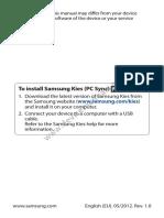 Samsung Galaxy S III manual eng