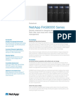 Datasheet NetApp FAS8000 Series