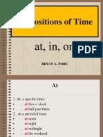 09 Prepositions