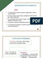 Engineering mechanics of Dynamics