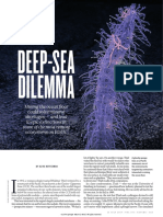 DEEP-SEA DILEMMA BY OLIVE HEFFERNAN