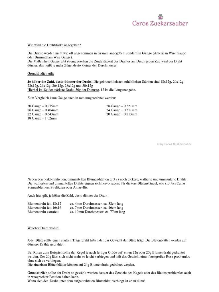 Groß Blumendraht Mit 22 Gauge Ideen - Schaltplan Serie Circuit ...