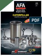 Catalogo afã motores caterpillar