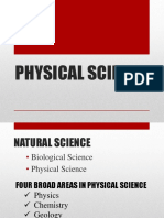 Physical Science Lecture(1)
