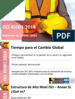 Presentación ISO 45001-2018